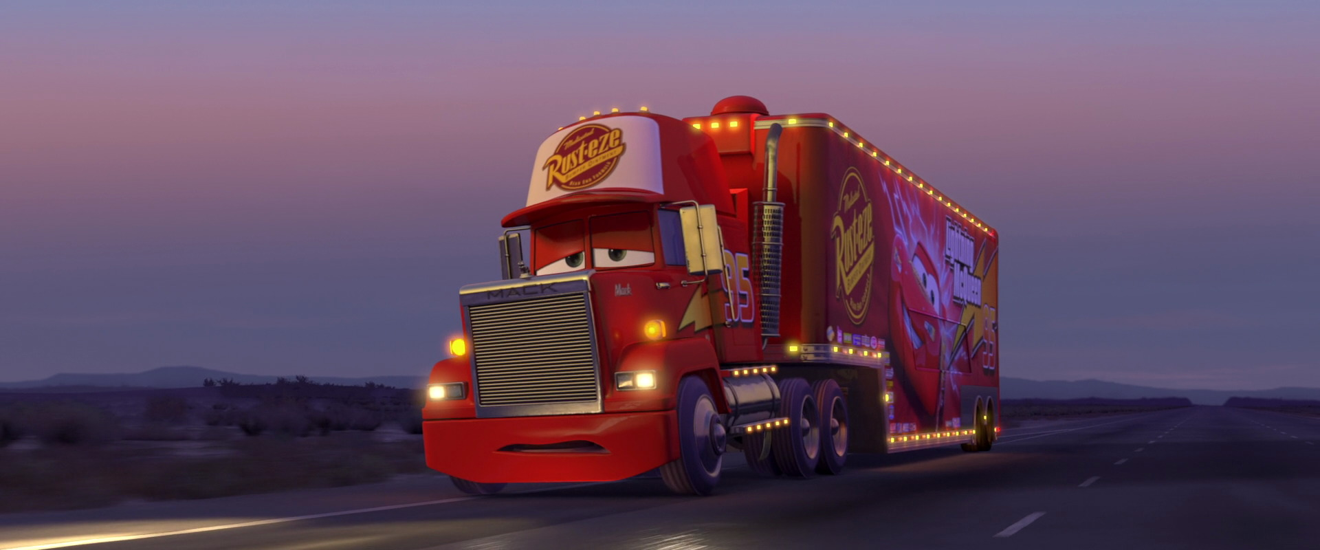 Mack Character From Cars Pixar Planet Fr