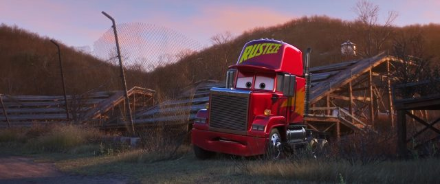 mack personnage character cars disney pixar