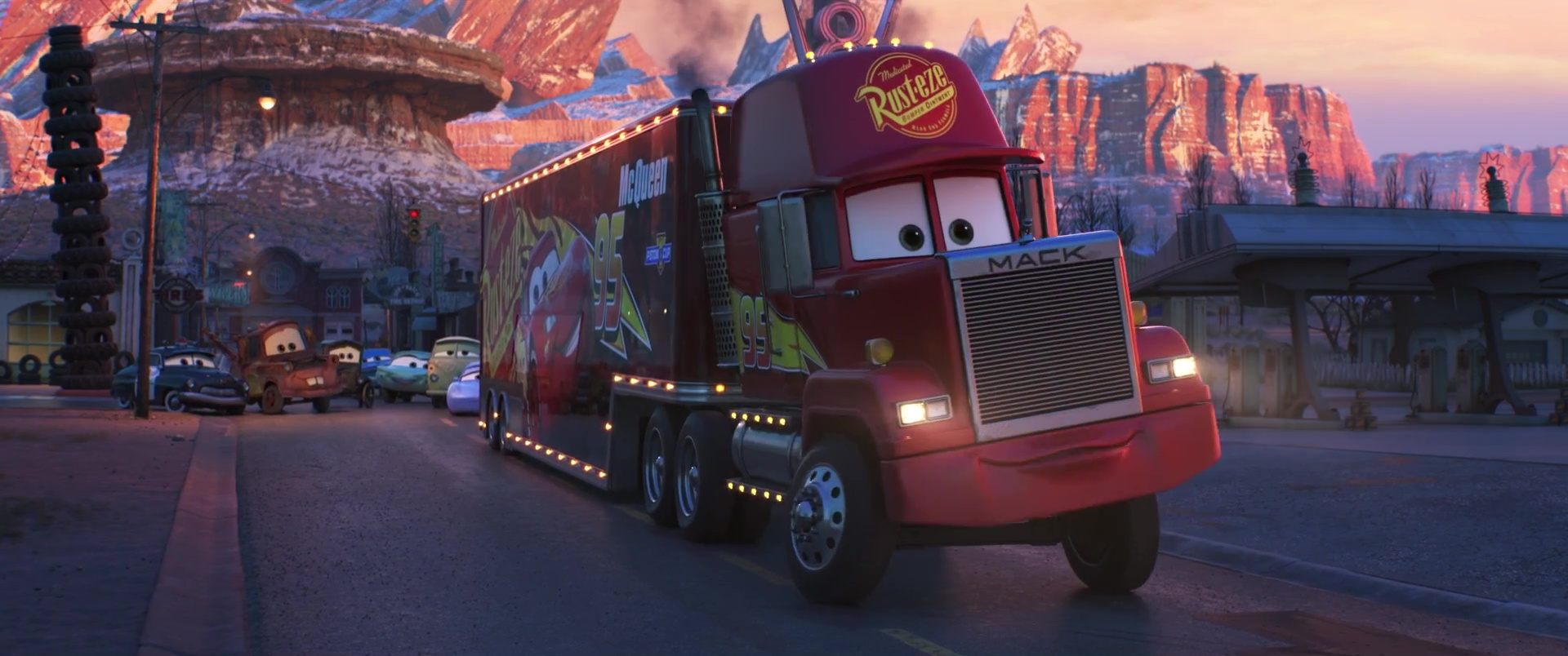 Mack Personnage Dans Cars Pixar Planet Fr