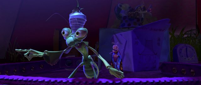 manny personnage character 1001 pattes bug life disney pixar
