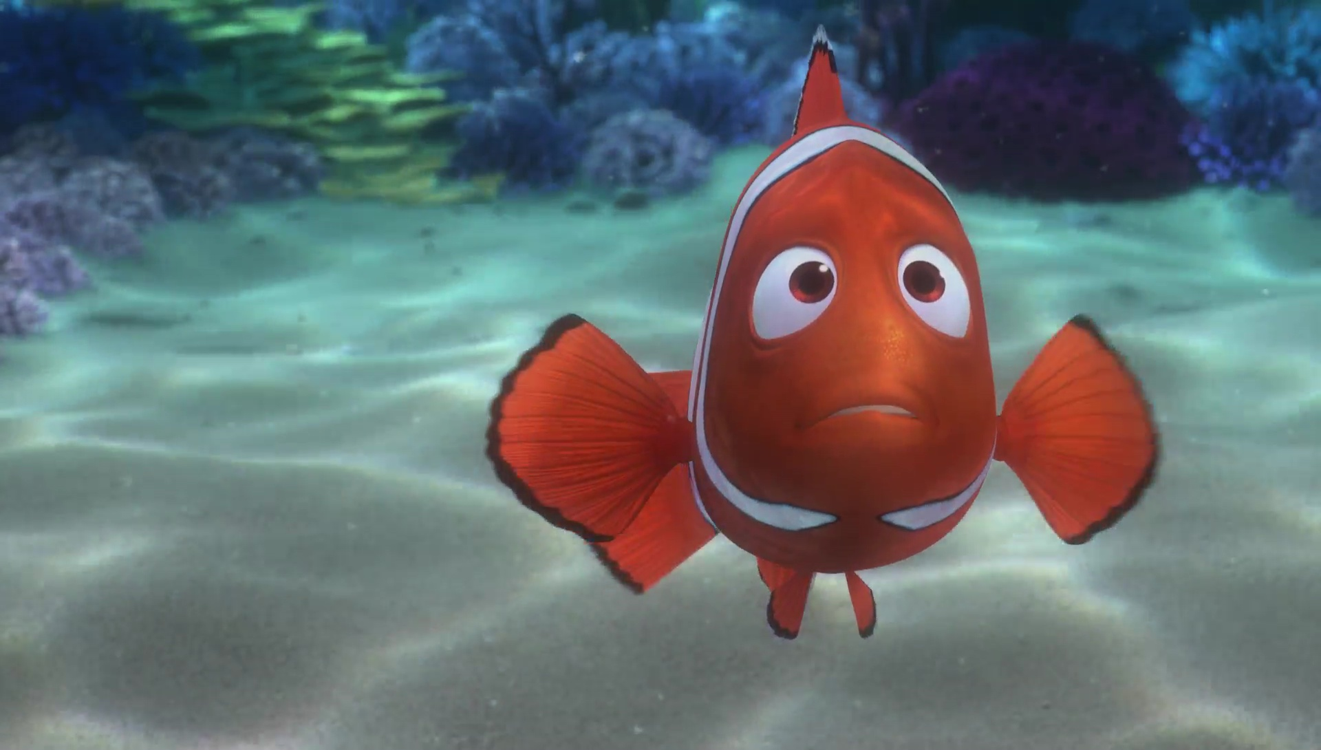 Screenshots Marin Marlin Monde Finding Nemo