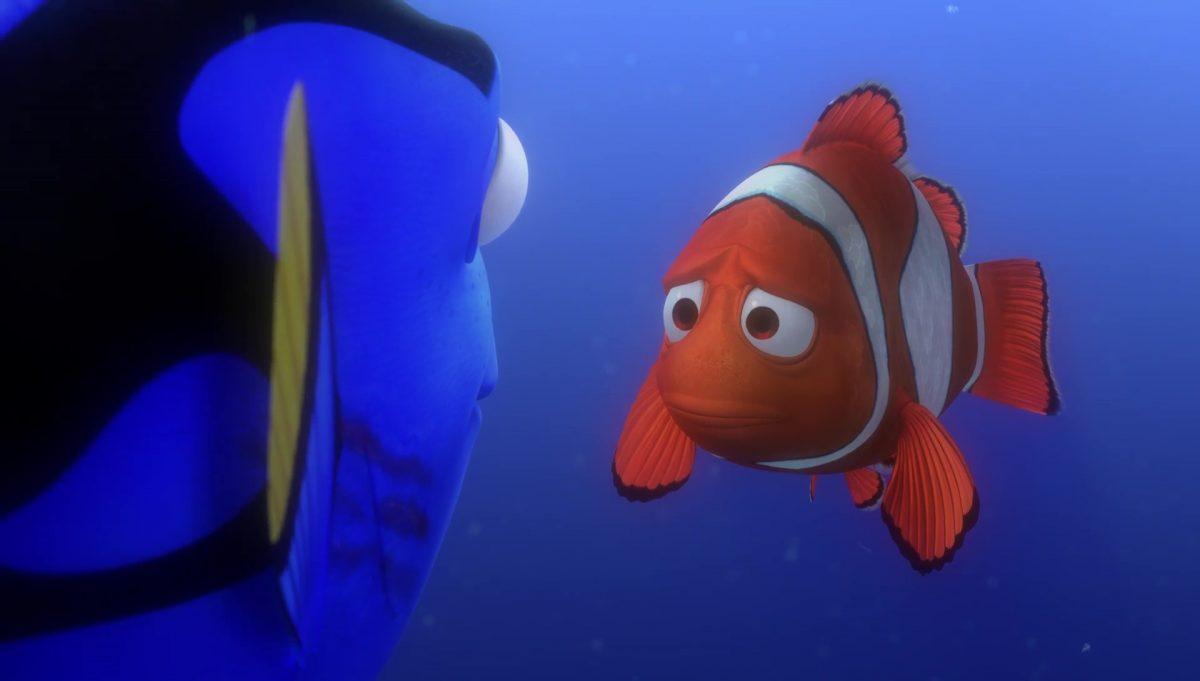marin marlin personnage character monde nemo finding disney pixar
