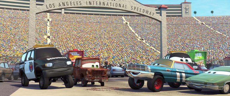 "Mario Andretti, personnage dans ""Cars""."