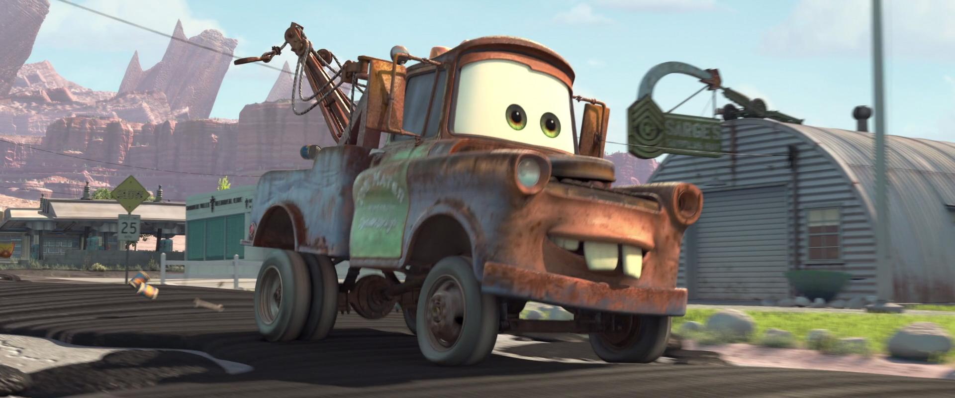 mater character from cars pixar planet fr. Black Bedroom Furniture Sets. Home Design Ideas