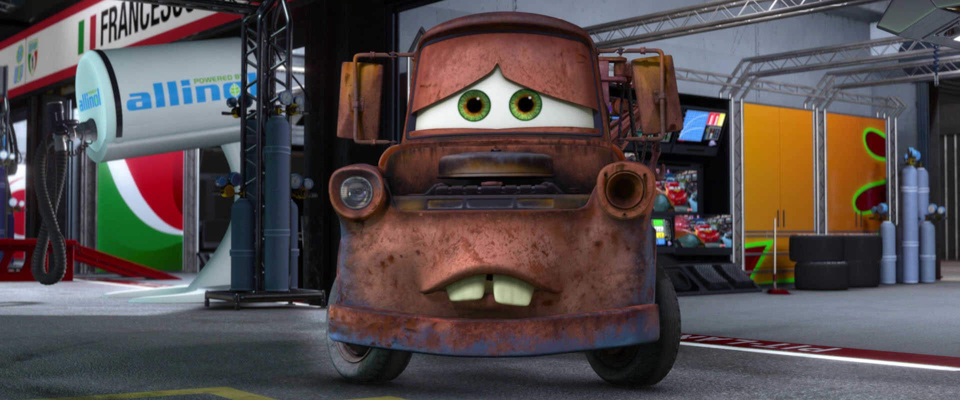 """Tow N Go >> Mater, character from """"Cars"""". 