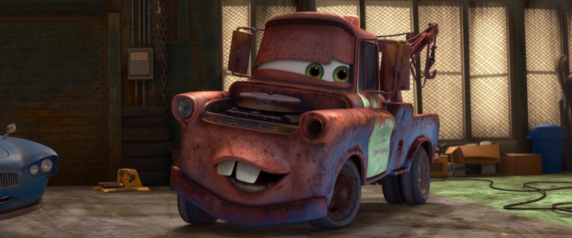 Martin personnage dans cars pixar planet fr - Depanneuse cars ...