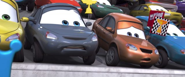 marty brakeburst personnage character cars disney pixar