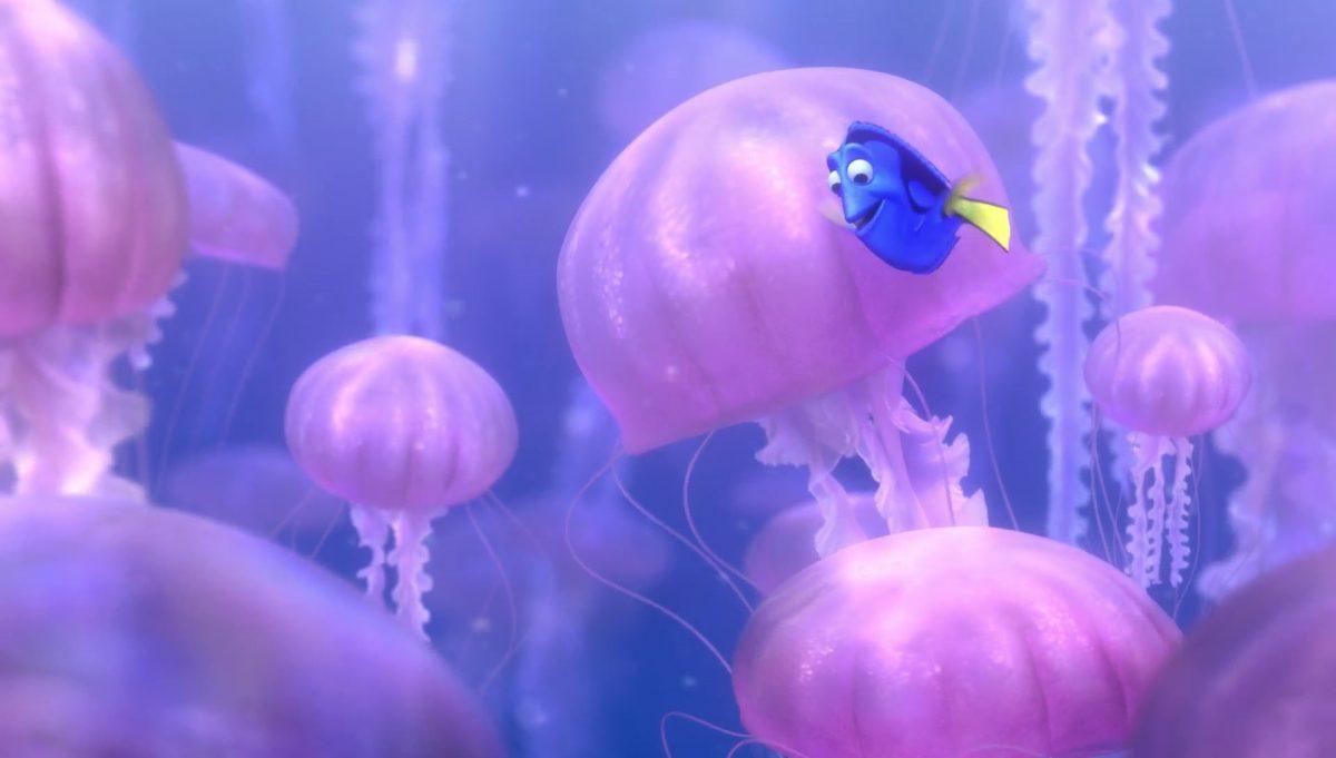 meduse jellyfish personnage character monde nemo finding dory disney pixar