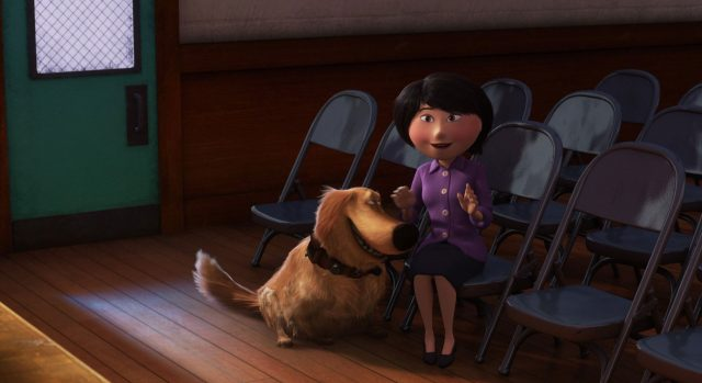 mère mother russell personnage character là-haut up disney pixar