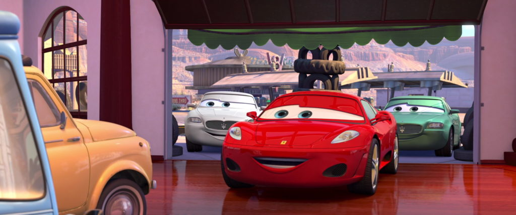 michael schumacher personnage character pixar disney cars