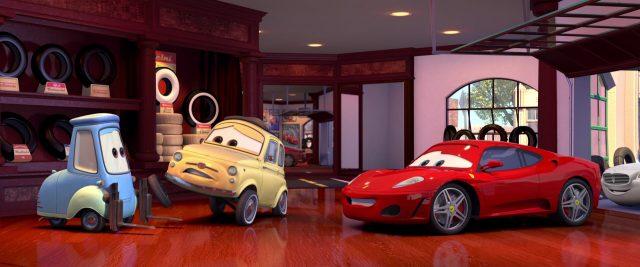 michael schumacher personnage character cars disney pixar