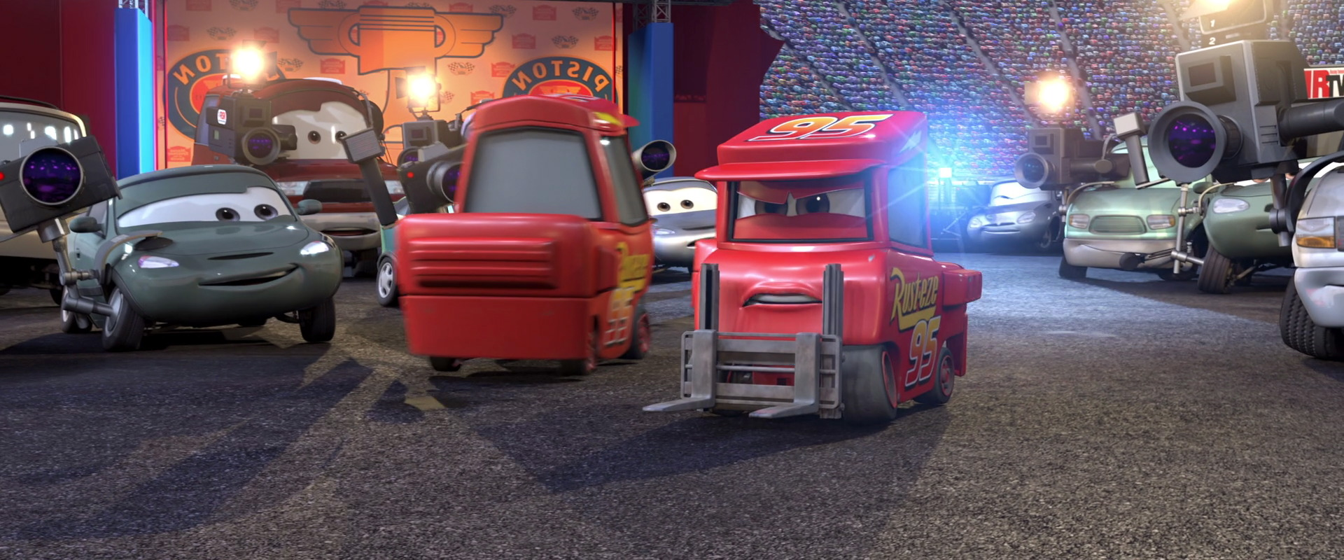 michel not chuck personnage character pixar disney cars