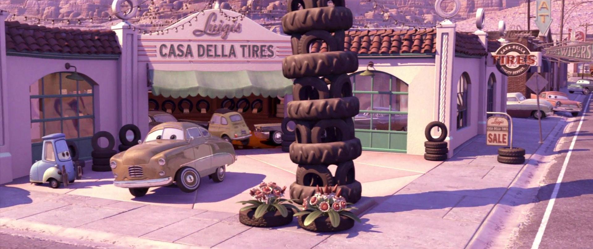 mildred bylane personnage character pixar disney cars