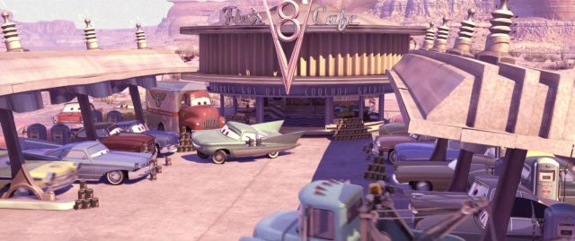 miles meattruck malone personnage character cars disney pixar