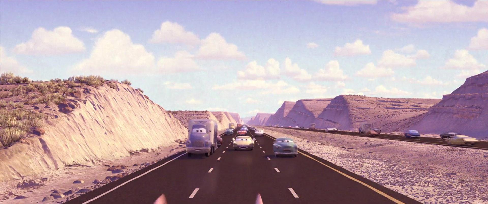 milton calypeer personnage character pixar disney cars