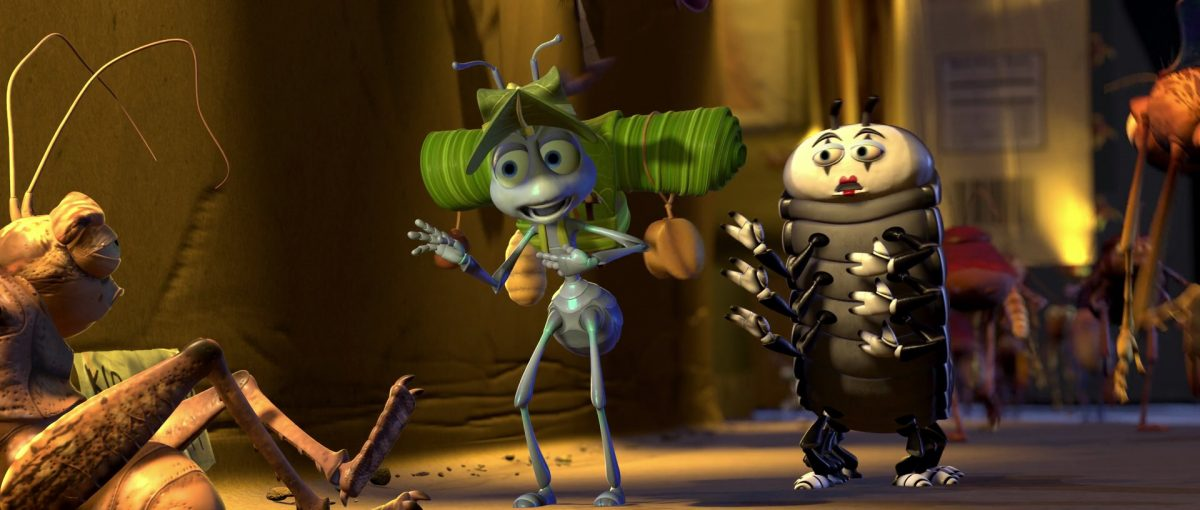 insecte mime personnage character 1001 pattes bug life disney pixar