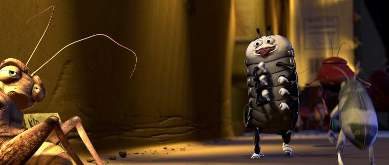 """Insecte Mime, personnage dans """"1001 pattes""""."""