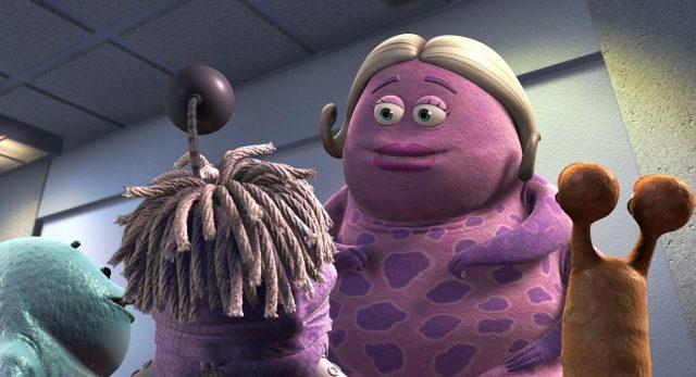miss nesbit personnage character monstres monsters inc cie disney pixar
