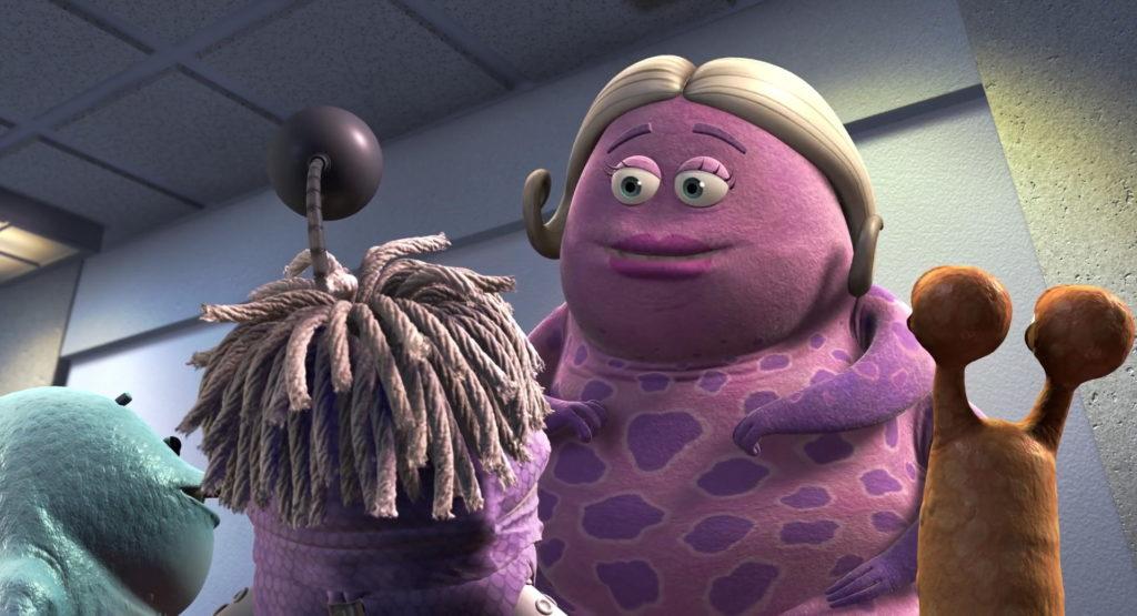 miss nesbit pixar disney personnage character monstres cie monsters inc