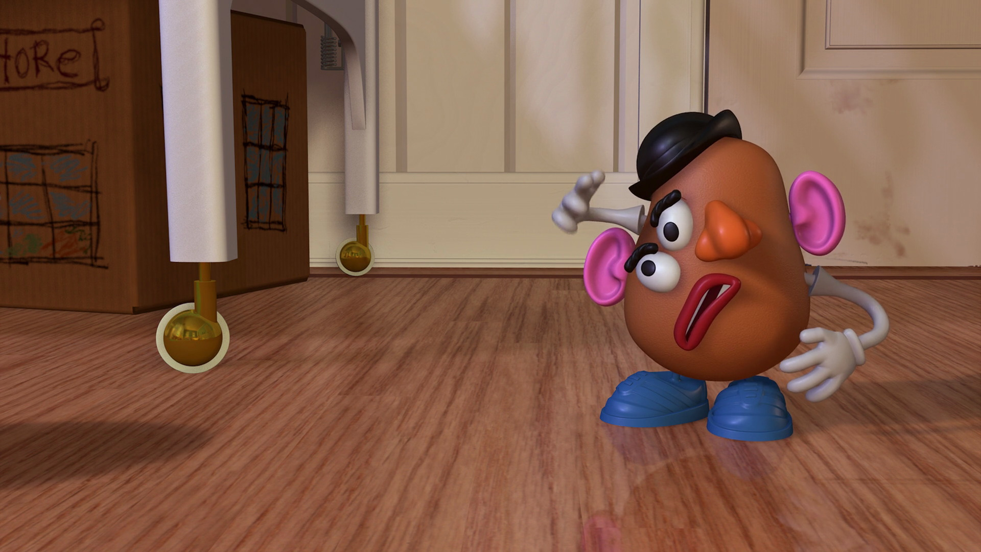 Mr Potato Head Character From Toy Story Pixar Planet Fr