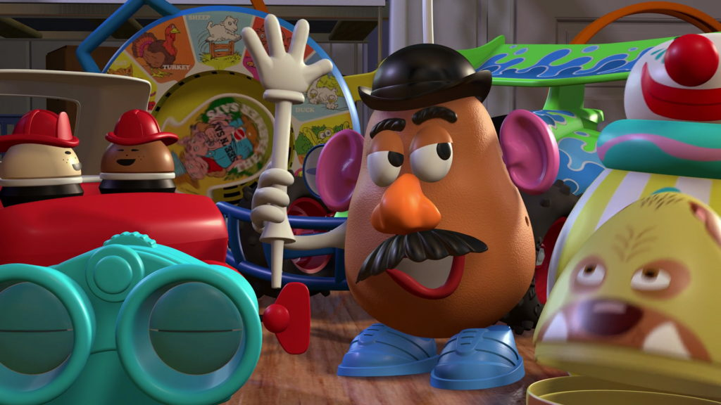 monsieur patate potatoe head toy story disney pixar personnage character