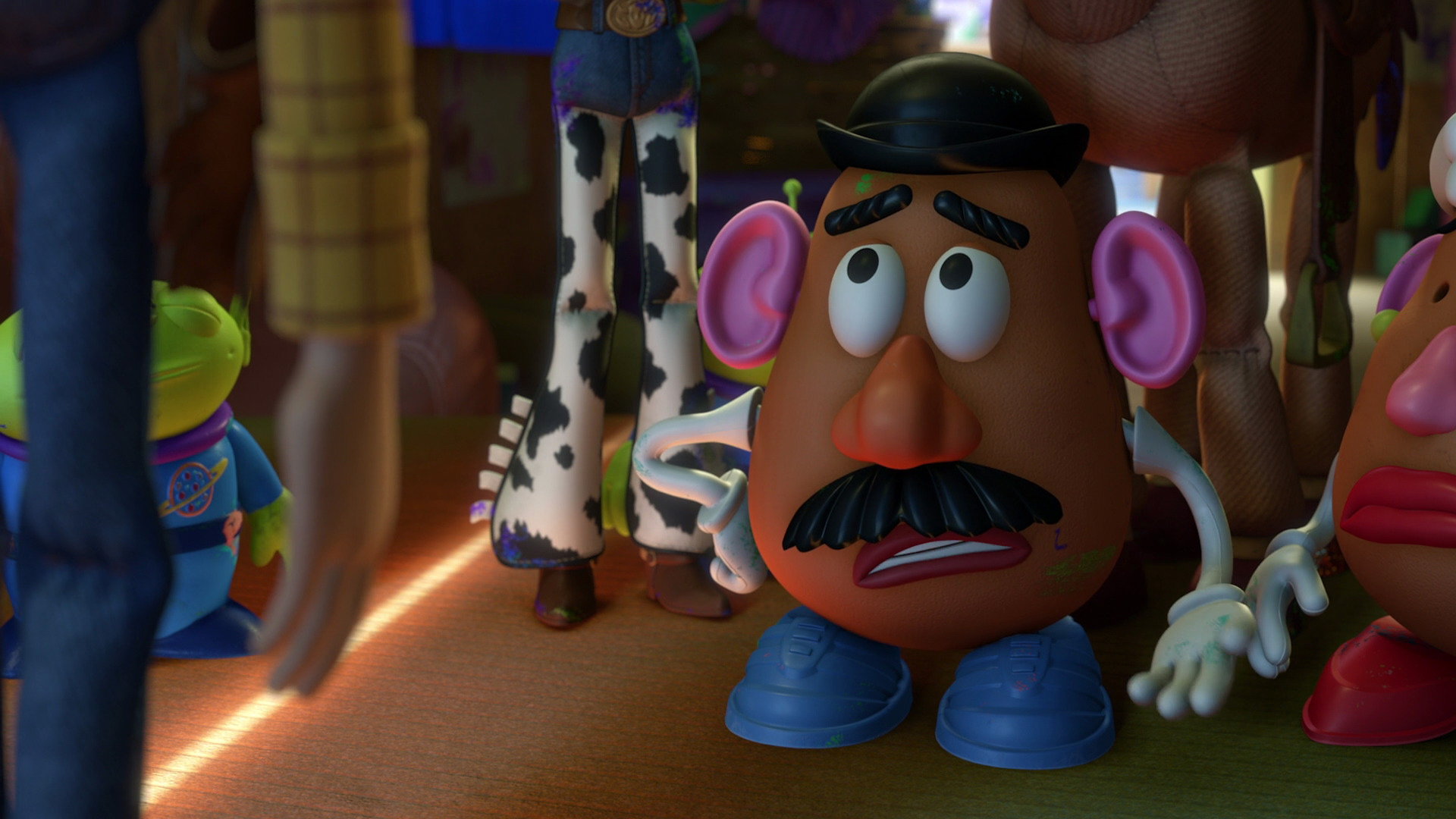 Monsieur patate personnage dans toy story pixar - Madame patate toy story ...