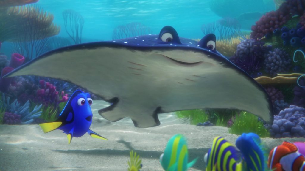 monsieur raie ray monde finding nemo disney pixar personnage character