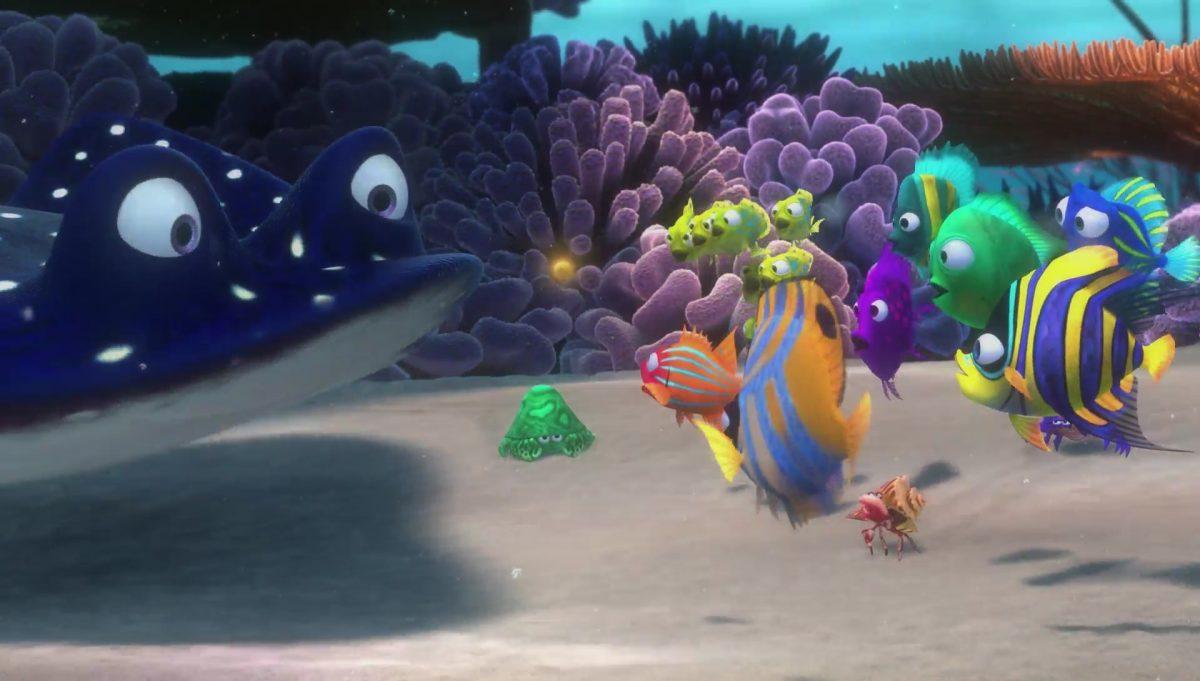 monsieur raie ray personnage character monde nemo finding dory disney pixar