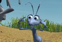 monsieur sol mr soil thorny pixar disney personnage character 1001 pattes a bug life