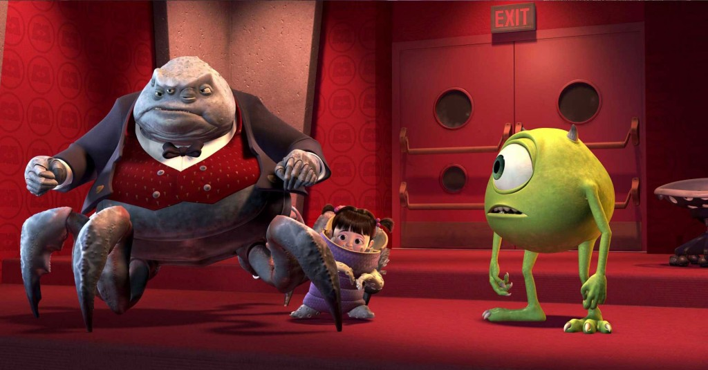 monstres cie pixar disney monsters inc