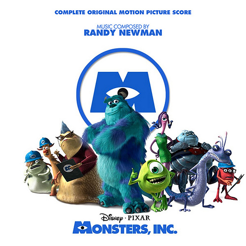 Pixar disney bande originale soundtrack monstres cie monsters inc