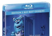 monstres cie blu ray jaquette disney pixar