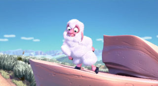 lamb personnage character pixar disney saute mouton boundin