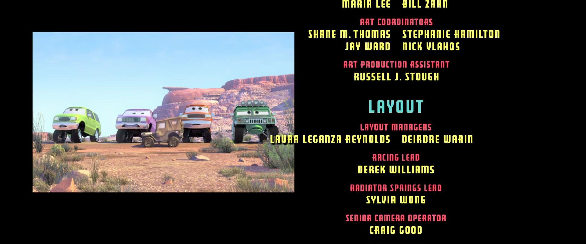 murphy personnage character pixar disney cars
