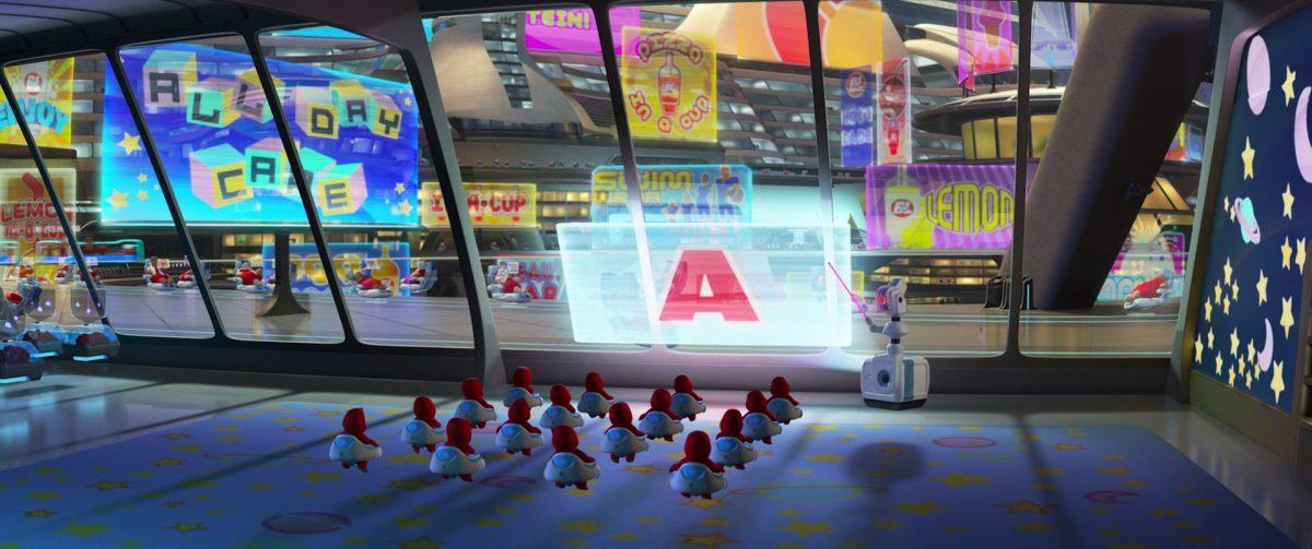 nan-e personnage character wall-e disney pixar