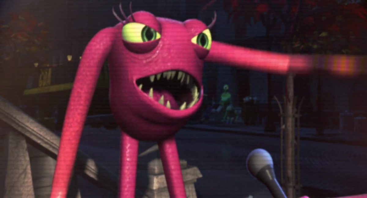 nicholas lanky schmidt personnage character monstres monsters inc cie disney pixar