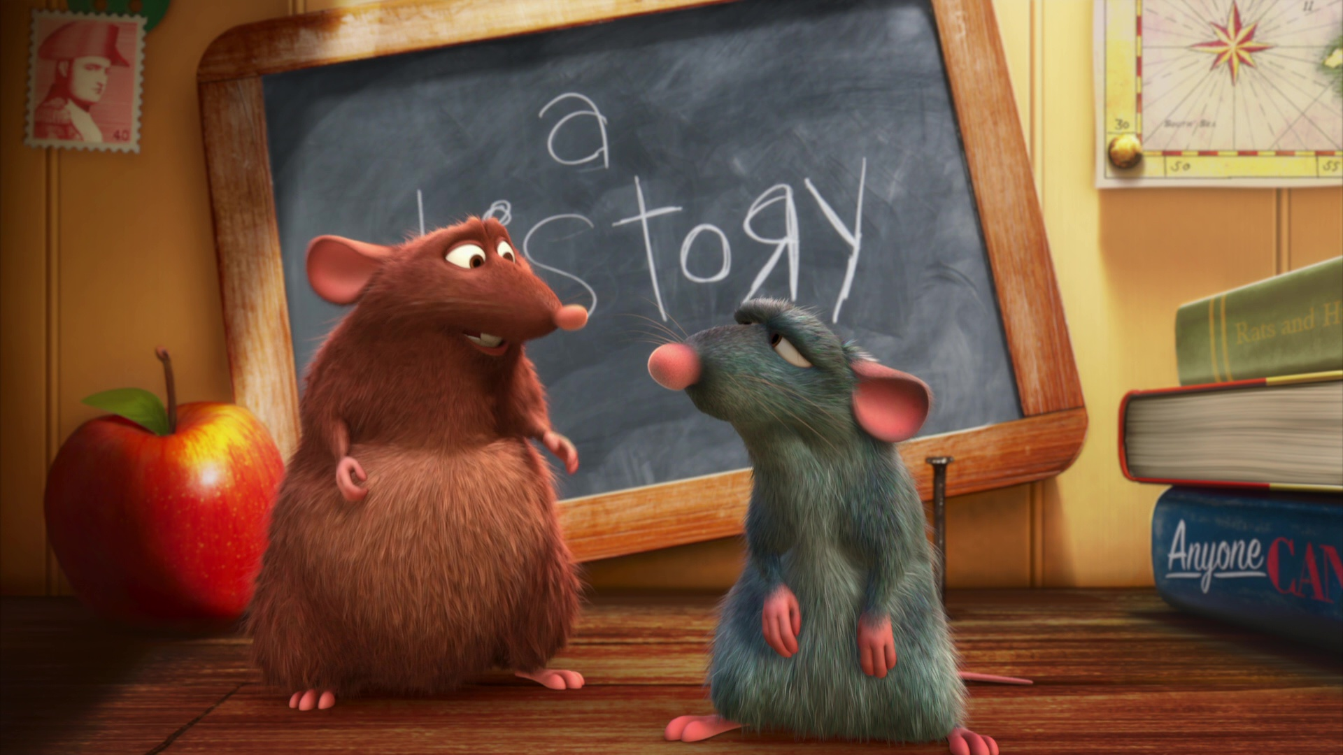 pixar disney notre ami le rat your friend the