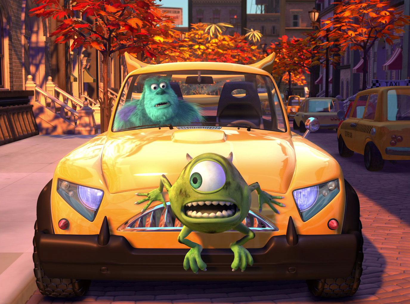 image nouvelle voiture bob mike new car disney pixar