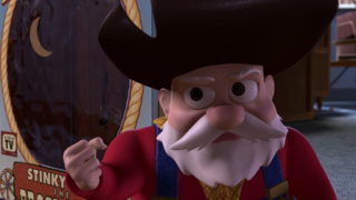papi pepite stinky pete pixar disney personnage character toy story 2