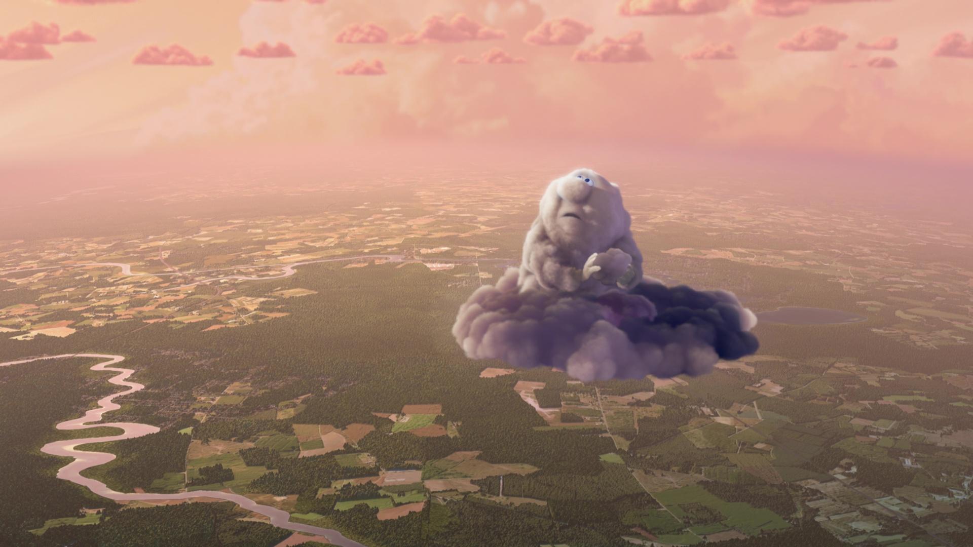 image passages nuageux partly cloudy disney pixar