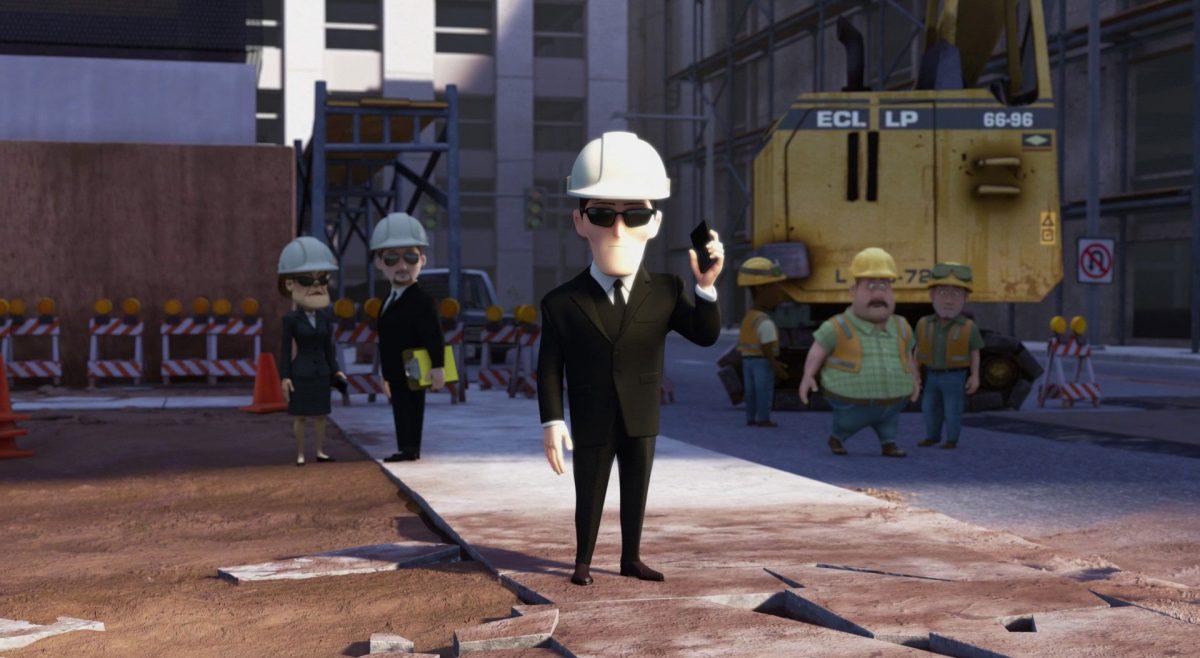Real estate developer chef chantier personnage character là-haut up disney pixar