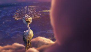 peck personnage character pixar disney passage nuageaux partly cloudy