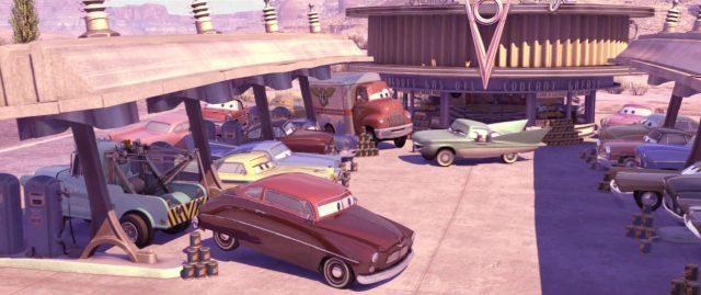 percy hanbrakes personnage character cars disney pixar