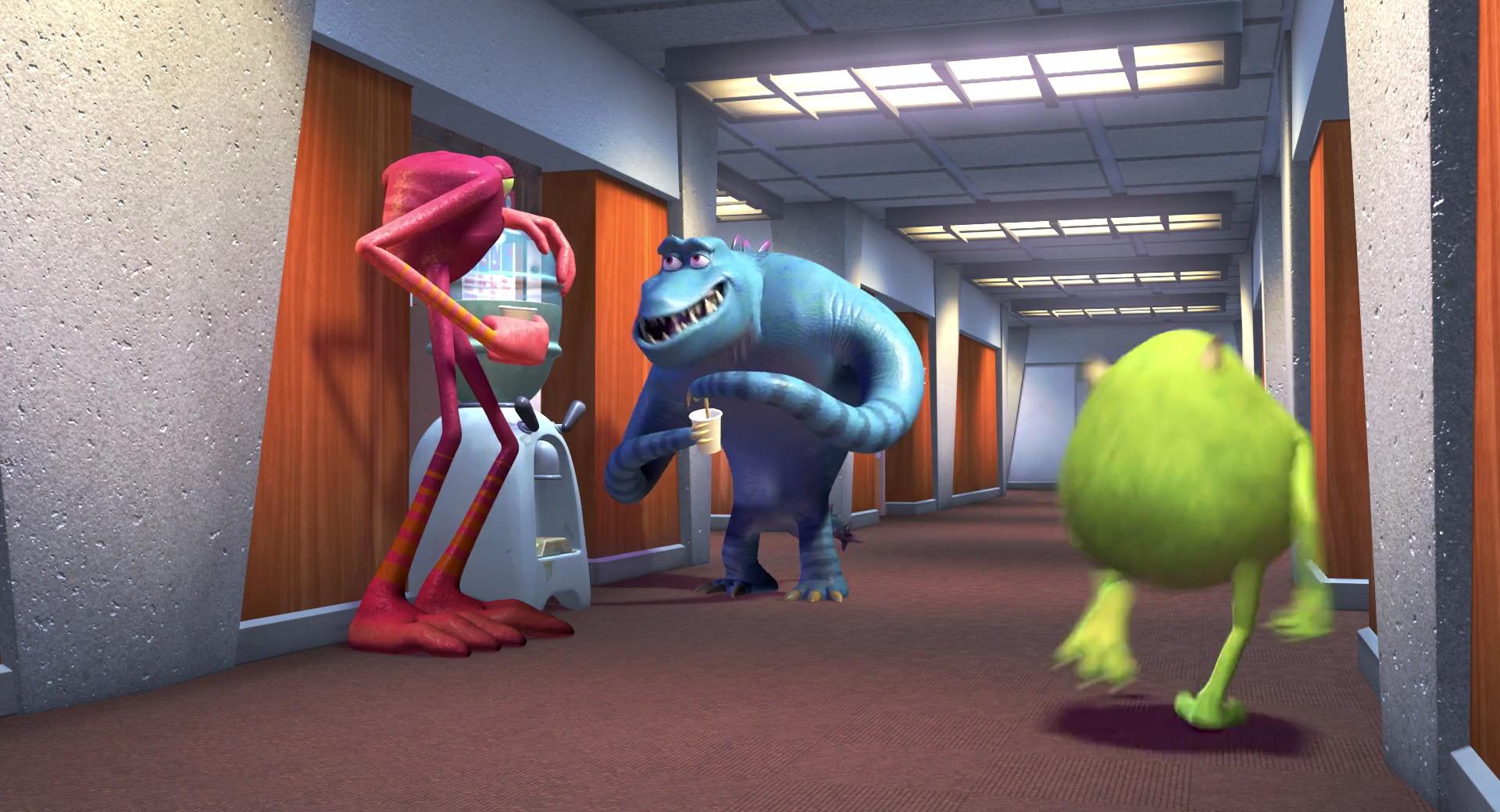 """Pete """"Claws"""" Ward, personnage dans """"Monstres & Cie""""    Pixar"""