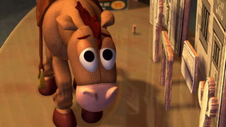 pile-poil bullseye pixar disney personnage character toy story 2