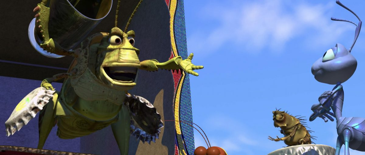 plouc molt personnage character 1001 pattes bug life disney pixar
