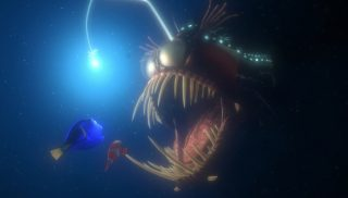 poisson abysse anglerfish monde finding nemo disney pixar personnage character