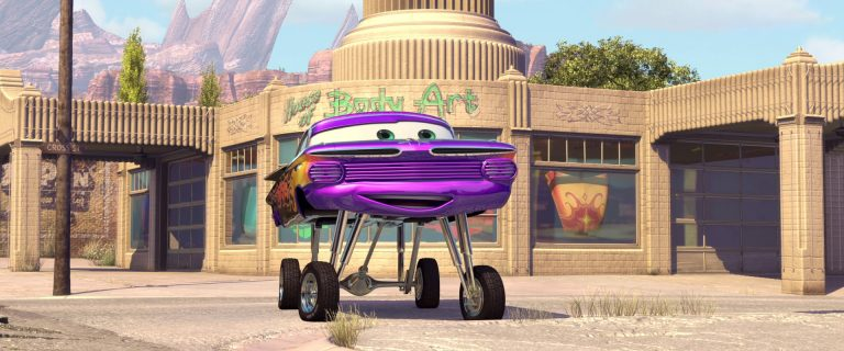 """Ramone, personnage dans """"Cars""""."""