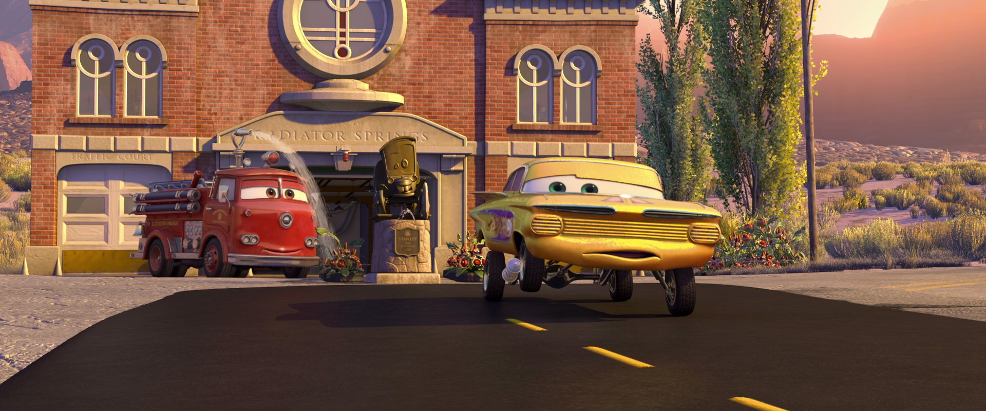 Ramone Character From Cars Pixar Planet Fr