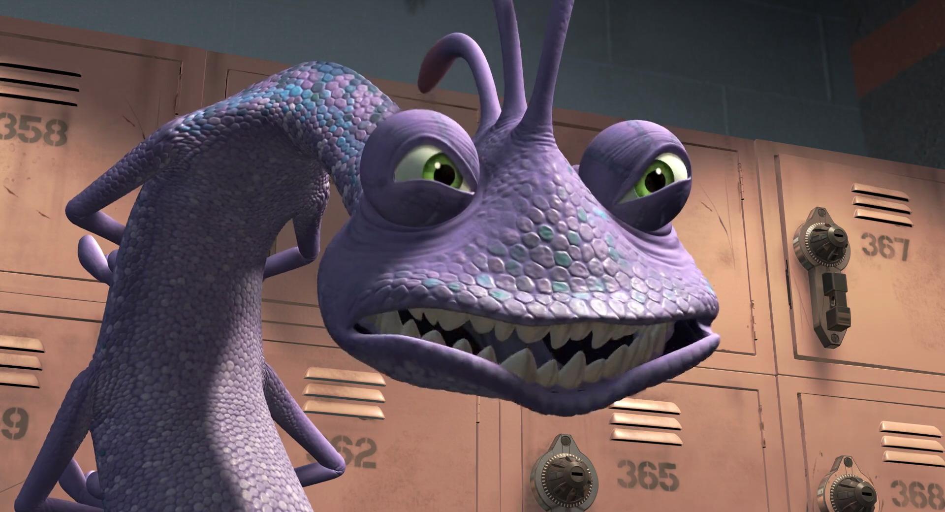 randall l on bogue personnage dans monstres cie pixar planet fr. Black Bedroom Furniture Sets. Home Design Ideas